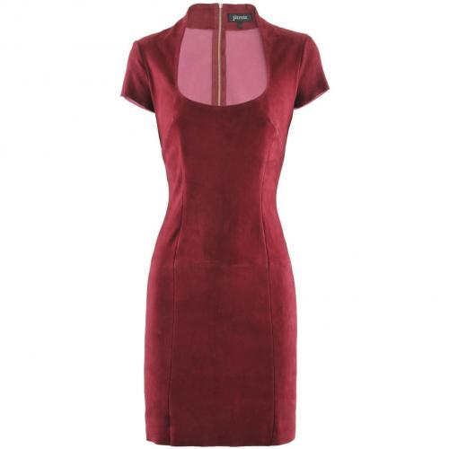 Jitrois Raspberry Velours Dress Caravelle