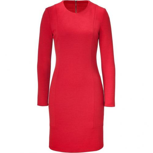 Joseph Red Wool Emily-Milano Dress