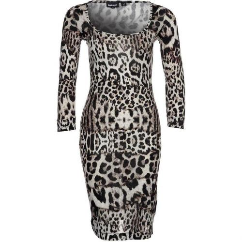 Just Cavalli Jerseykleid animal