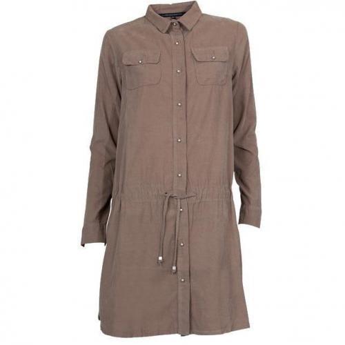 La Fee Maraboutee Kleid Cord beige