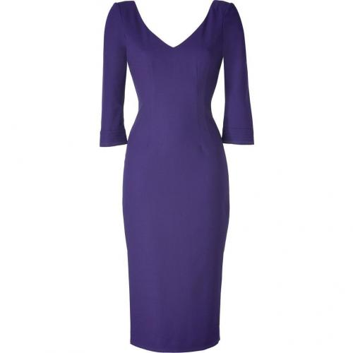 LWren Scott Amethyst Deep V-Neck Dress