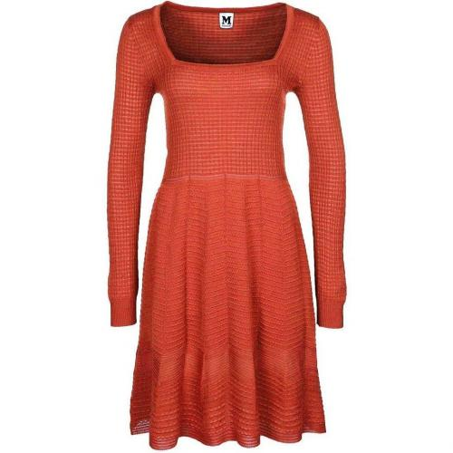 M Missoni Strickkleid orange
