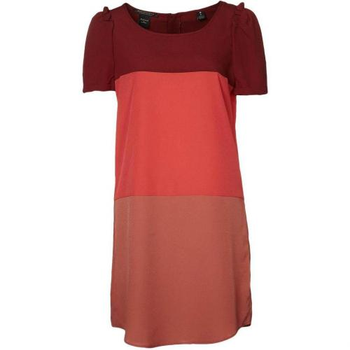 Maison Scotch Blusenkleid red combo