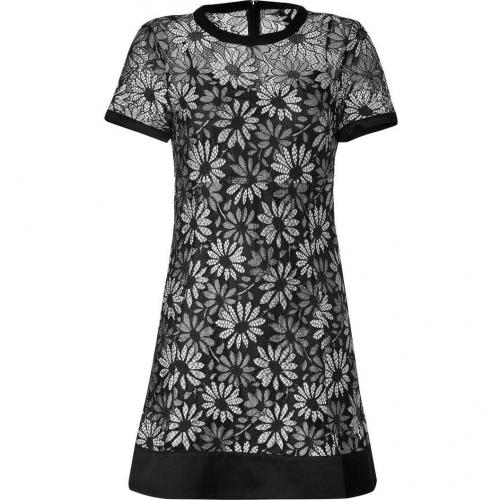 Marc by Marc Jacobs Black/White Lace Lily Dress