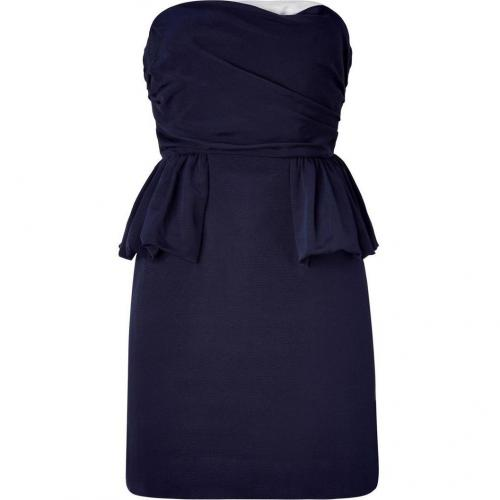 Marc by Marc Jacobs Normandy Blue Strapless Dress