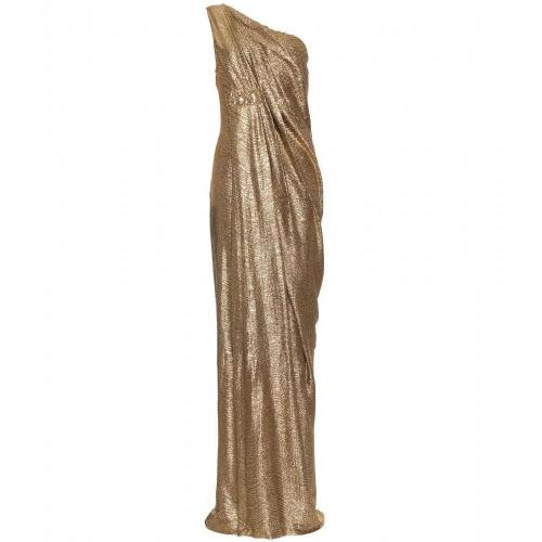 Marchesa Notte One-Shoulder-Kleid