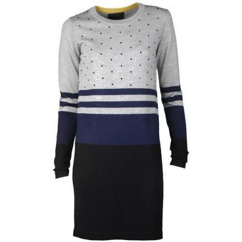 Markus Lupfer Kleid Sequin Dress grau