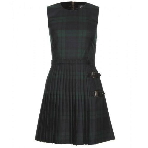 McQ Alexander McQueen Kariertes Kilt-Kleid