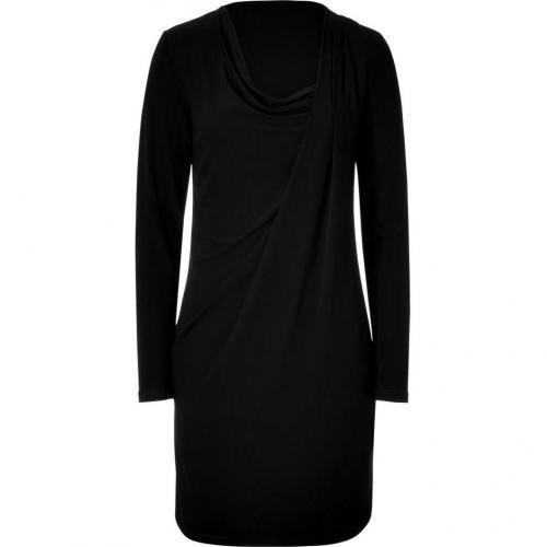 Michael Kors Black Cowl Neck Dress