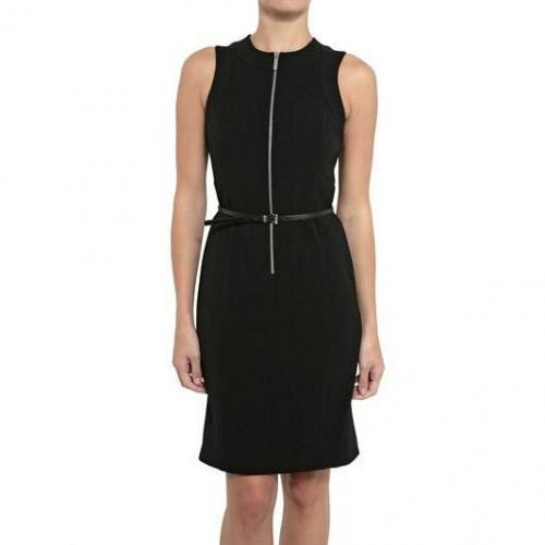 Michael Michael Kors Zip Up Lux Crepe Kleid