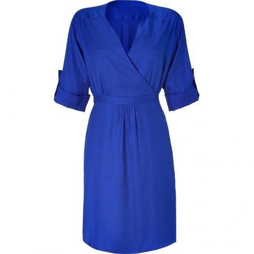 Milly Cobalt Cuff Sleeve Dress