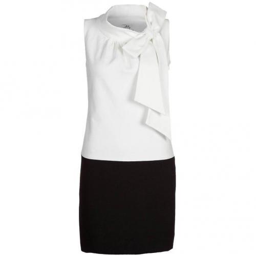 Milly Cocktailkleid / festliches Kleid ecru/black Ärmellos