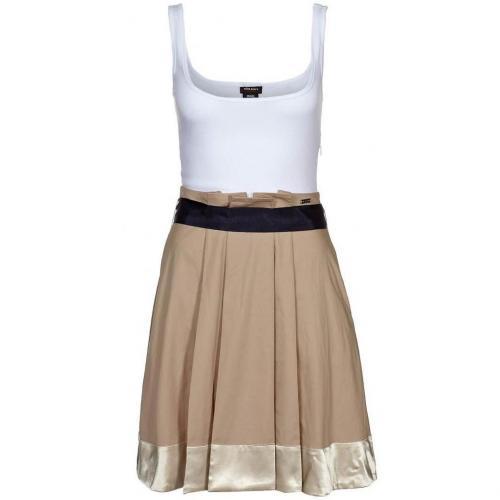 Miss Sixty Suzann Sommerkleid beige / white