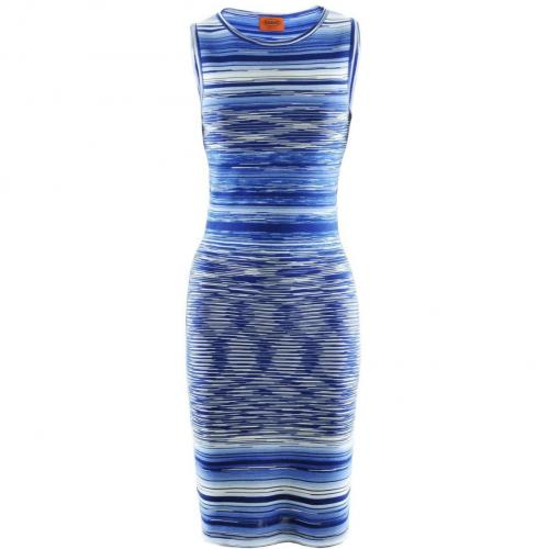 Missoni Blue Multi Stripe Dress