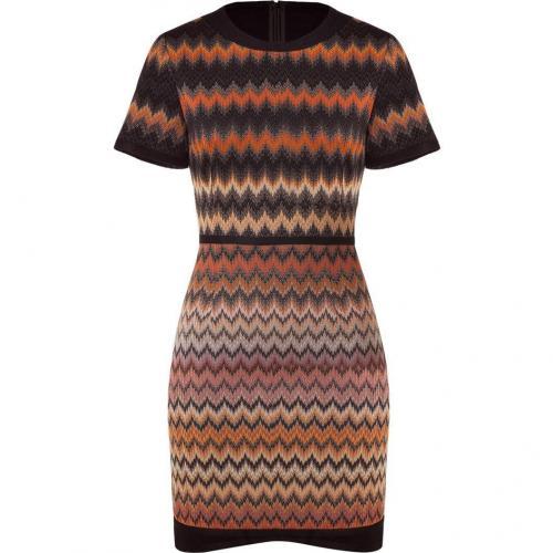 Missoni Carneol/Obsidian Patterned Dress