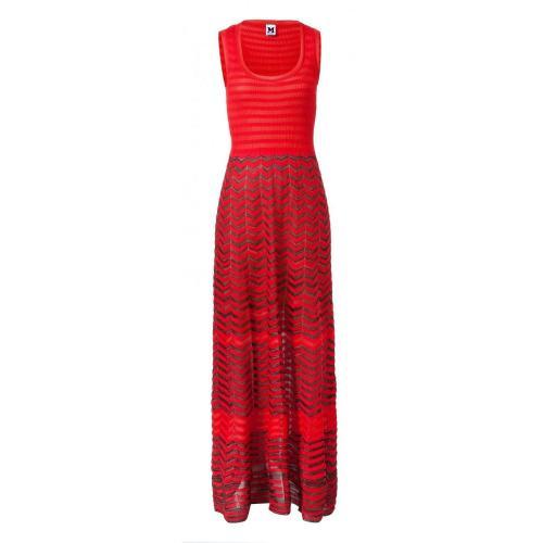 Missoni M Long Dress Rot