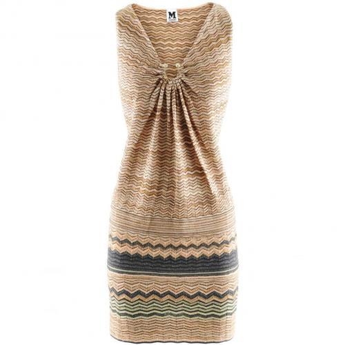 Missoni M Rose Gold Multi Knit Dress