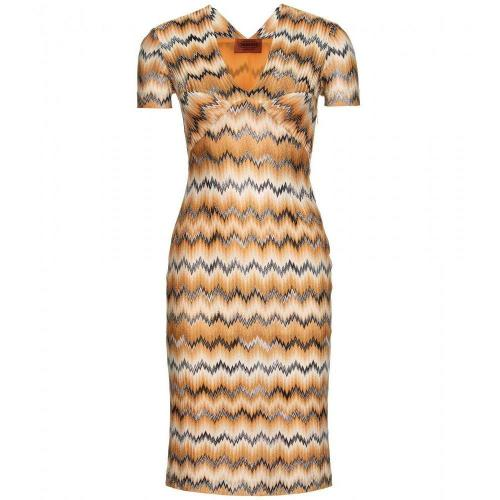 Missoni Strickkleid Yellow