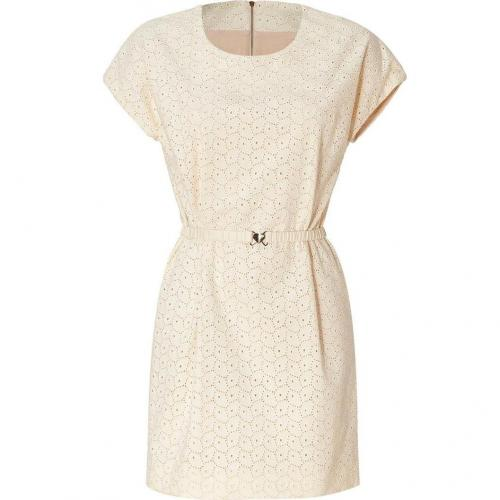 Mulberry Marshmallow White Broderie Anglaise Dress