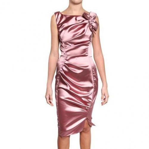 Nina Ricci Rèschen Technical Stretch Satin Kleid