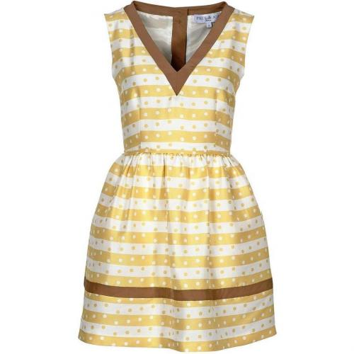 Paul & Joe Lisbeth Cocktailkleid / festliches Kleid jaune bain