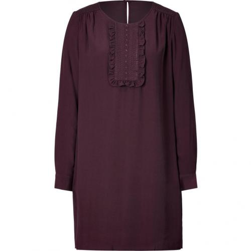 Paul & Joe Sister Marron Crepe Antonela Dress