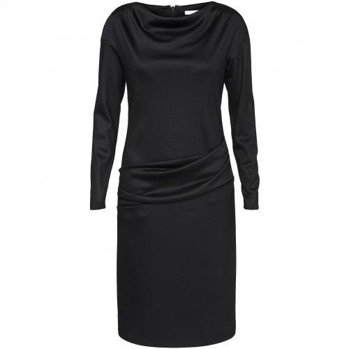Paule Ka Kleid schwarz mit Ärmeln