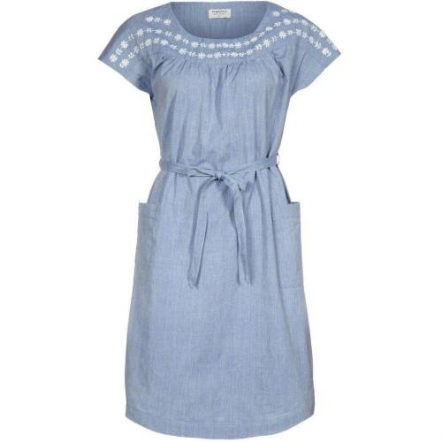 People Tree Daisy Jeanskleid blue chambray