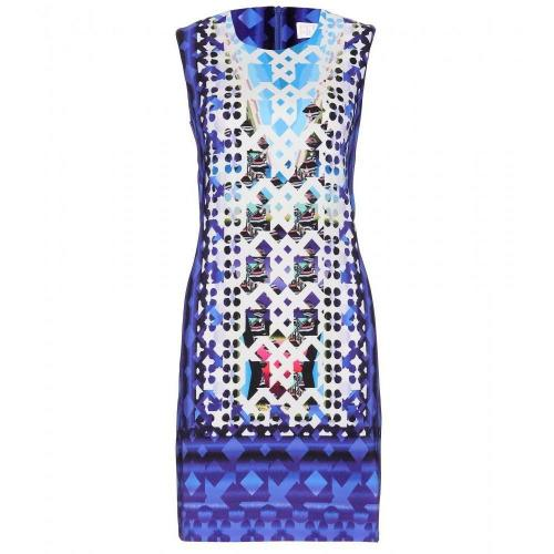 Peter Pilotto Kleid Mit Digital-Print Blau