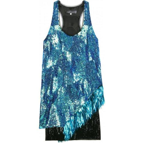 Proenza Schouler Sequin On Chiffon Dress