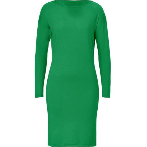 Ralph Lauren Black Meadow Green Cashmere-Silk Knit Dress