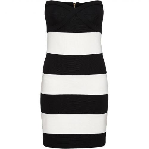 Review Kleid schwarzweiß