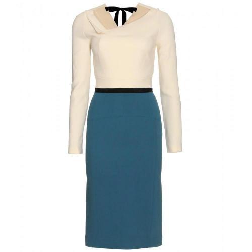 Roland Mouret Angel Langärmeliges Kleid