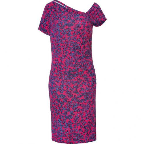 See by Chloé Hyacinth/Iris Floral Printed Draped Kleid