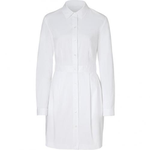 Steffen Schraut White Claudine Shirtdress