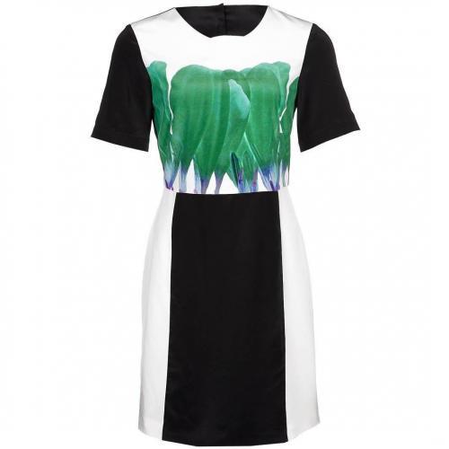 Tibi Hudson Etuikleid emerald multi