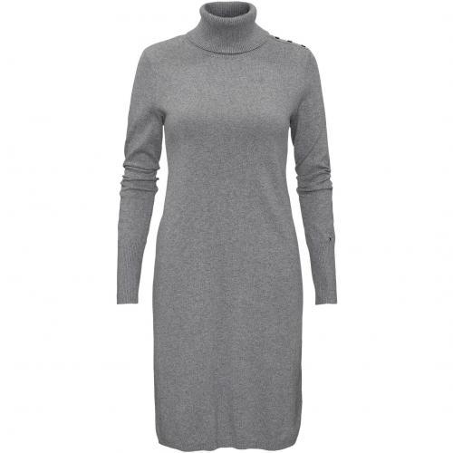 Tommy Hilfiger Kleid Coleen mit Rollkragen grau