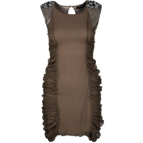 Traffic People Ripples Dress Etuikleid brown