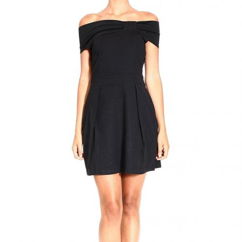 Valentino Bow knitted fabric dress