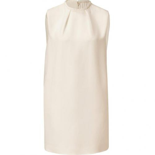 Valentino Ivory Silk Dress