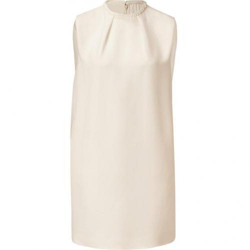 Valentino Ivory Silk Dress
