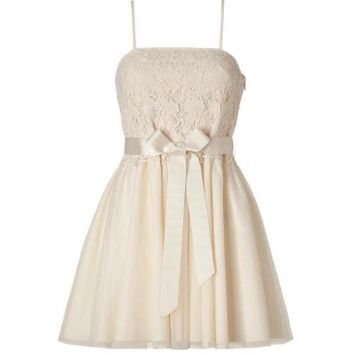 Valentino R.E.D. Ivory Cotton Lace Combo Dress