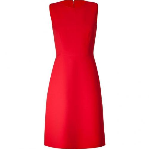 Valentino Scarlet Red A-Line Wool Dress