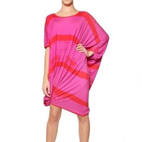 Vivienne Westwood Anglomania Asymmetrisches Stretchkleid Aus Viskosejersey