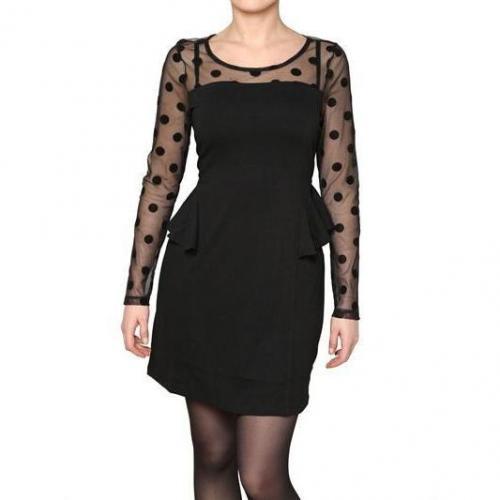 Yumi Devorè Tüll Und Rüschen Jersey Kleid
