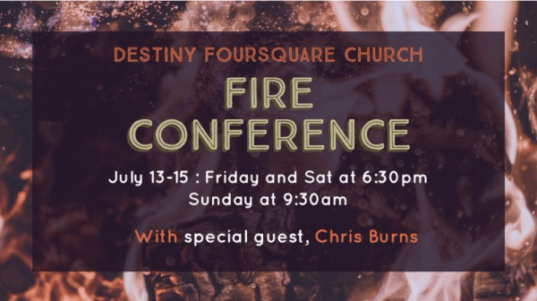 Fire Conference Sunday Image