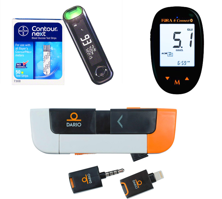 three best blood sugar monitor systems for diabetics