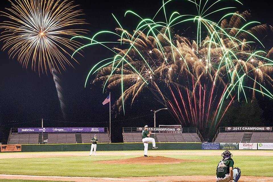 July 24th Fireworks Extravaganza Sponsored by Empire Recycling
