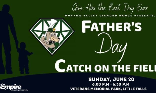 FATHER'S DAY CATCH ON THE FIELD JUNE 20TH
