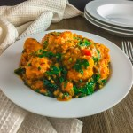vegetable yam porridge